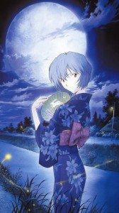 Neon Genesis Evangelion Rei Ayanami.iPhone 6 Plus wallpaper