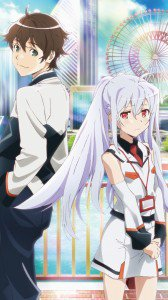 Plastic Memories Isla Tsukasa Mizugaki.HTC Windows Phone 8X wallpaper 720x1280