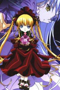 Rozen Maiden Shinku Barasuishou.iPhone 4 wallpaper 640x960