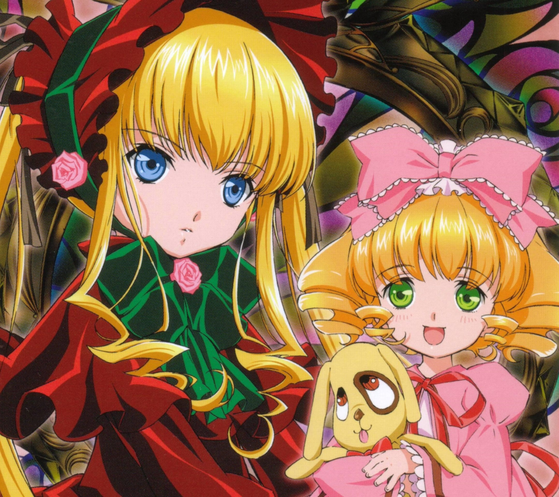 Rozen Maiden Shinku Hinaichigo.Android wallpaper 2160x1920