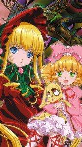 Rozen Maiden Shinku Hinaichigo.HTC One wallpaper 1080x1920