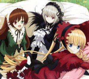 Rozen Maiden Shinku Suigintou Suiseiseki.Android wallpaper 2160x1920