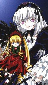 Rozen Maiden Shinku Suigintou.Sony Xperia Z wallpaper 1080x1920