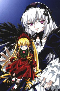 Rozen Maiden Shinku Suigintou.iPhone 4 wallpaper 640x960