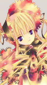 Rozen Maiden Shinku.Magic THL W300 wallpaper 1080x1920