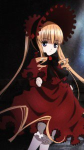 Rozen Maiden Shinku.Nokia 808 PureView wallpaper 360x640