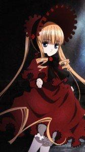 Rozen Maiden Shinku.Nokia 808 PureView wallpaper 360x640