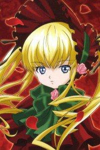 Rozen Maiden Shinku.iPod 4 wallpaper 640x960