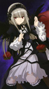 Rozen Maiden Suigintou.iPhone 6 Plus wallpaper 1080x1920