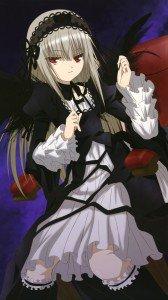 Rozen Maiden Suigintou.iPhone 6 Plus wallpaper 1080x1920