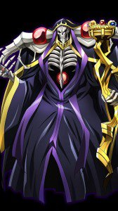 Overlord Ainz Ooal Gown.Samsung Galaxy Nexus wallpaper 720x1280