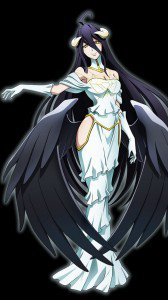 Overlord Albedo.Sony Xperia S wallpaper 720x1280