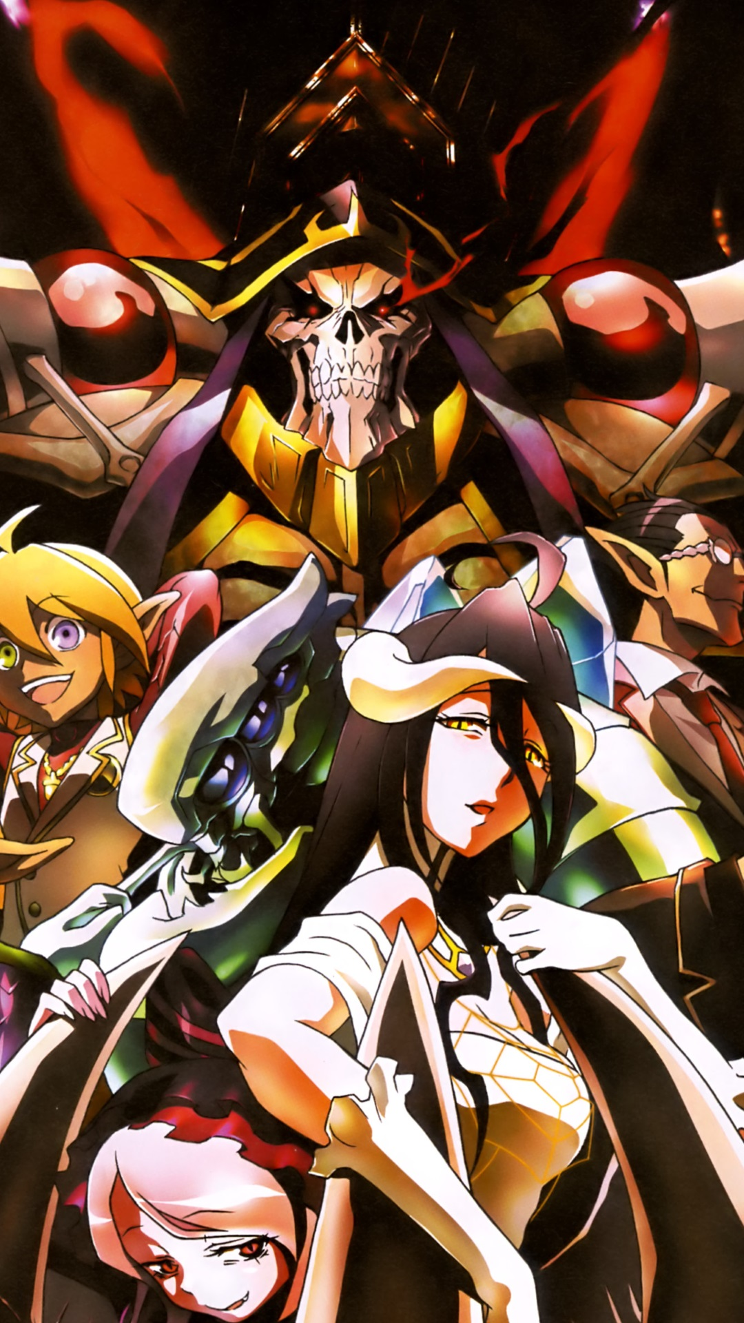 Overlord Anime Wallpaper Iphone No 1 Wallpaper Hd