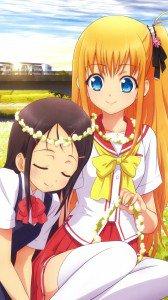 Charlotte Ayumi Otosaka Yusa Nishimori (Yusarin).Magic THL W9 wallpaper 1080x1920