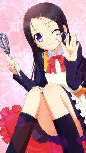 Charlotte Ayumi Otosaka.Magic THL W9 wallpaper 1080x1920