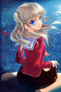Charlotte Nao Tomori.iPhone 4 wallpaper 640x960