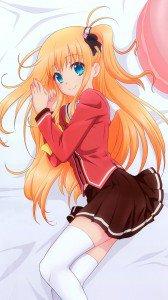 Charlotte Yusa Nishimori (Yusarin).Magic THL W8 wallpaper 1080x1920