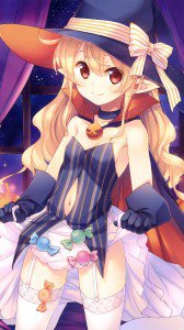 Halloween anime 2015.LG D802 Optimus G2 wallpaper 1080x1920