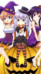 Halloween anime 2015.Sony Xperia Z wallpaper 1080x1920