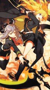 Owari no Seraph Shinoa Hiragi Mitsuba Sangu.Magic THL W300 wallpaper 1080x1920