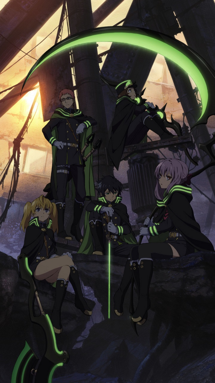 Owari No Seraph Seraph Of The End Anime Wallpapers For Iphone