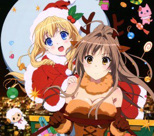 Christmas 2016 Amagi Brilliant Park.Android wallpaper 2160x1920