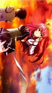 Rakudai Kishi no Cavalry Stella Vermillion Ikki Kurogane.HTC One wallpaper 1080x1920