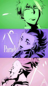 Death Parade.Motorola Droid Razr HD wallpaper 720x1280