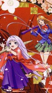 Tenjou Tenge Maya Natsume Aya Natsume.Magic THL W300 wallpaper 1080x1920