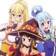 KonoSuba: God's Blessing on This Wonderful World! anime wallpapers for android and iPhone. Aqua, Megumin and Darkness wallpapers. Luna and Kazuma Sato lock-screen images. KonoSuba android wallpapers 2160x1920 KonoSuba full...