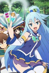 KonoSuba Kazuma Sato Aqua Megumin.iPhone 4 wallpaper 640x960