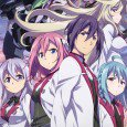 The Asterisk War: The Academy City on the Water smartphone wallpapers. Ayato Amagiri and Julis-Alexia von Riessfelt background images, Claudia Enfield, Saya Sasamiya, Kirin Toudou and Ernesta Kuhne wallpapers. Gakusen...