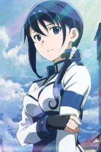 Hai to Gensou no Grimgar Mary.iPhone 4 wallpaper 640x960