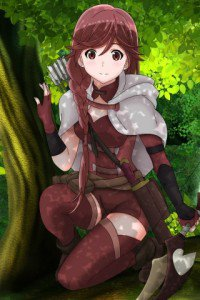 Hai to Gensou no Grimgar Yume.Fly IQ245 wallpaper 320x480