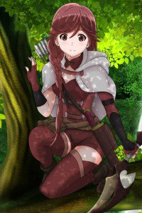 Hai to Gensou no Grimgar Yume.iPhone 4 wallpaper 640x960