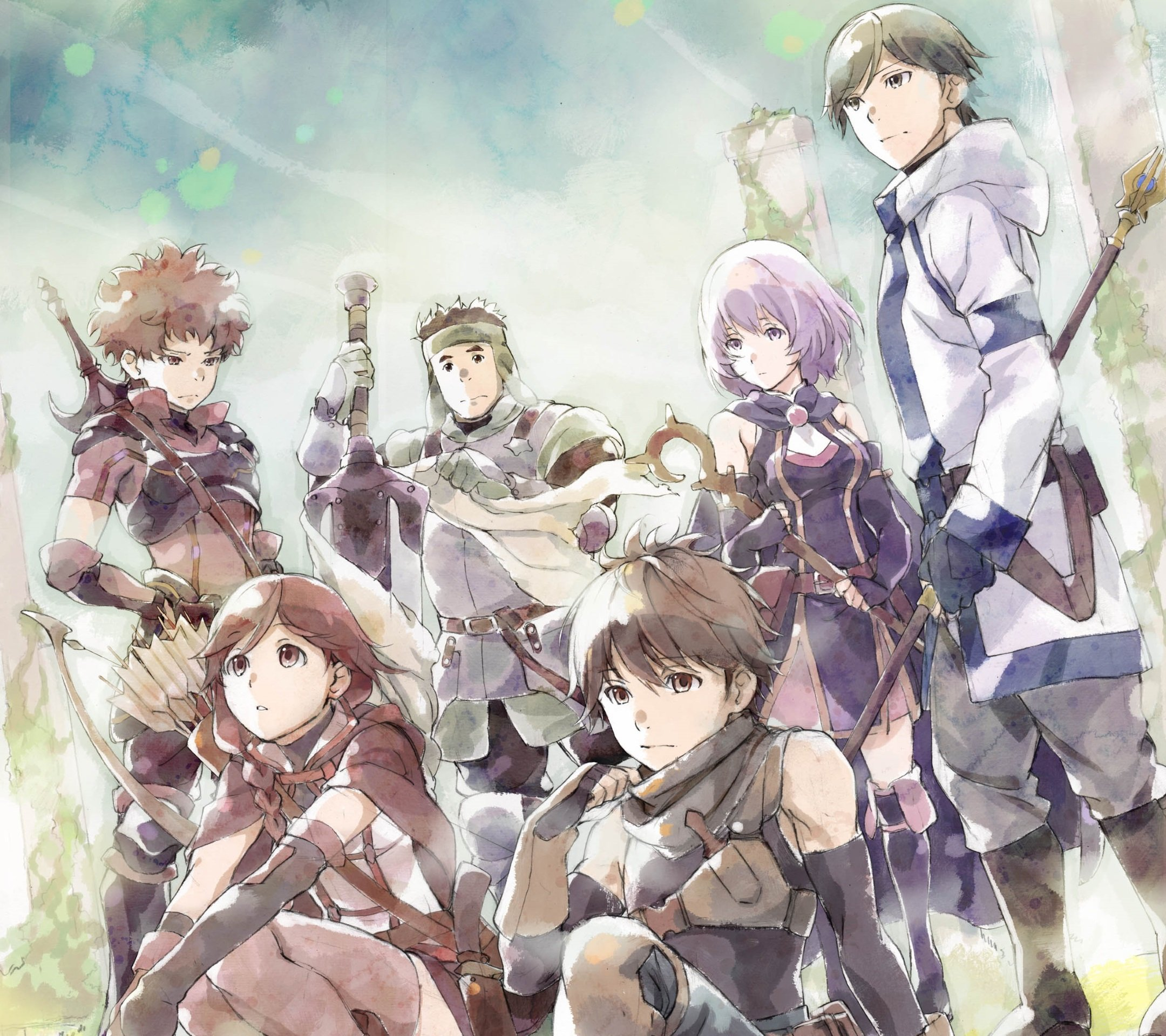 Hai to Gensou no Grimgar.Android wallpaper 2160x1920