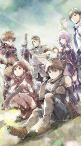 Hai to Gensou no Grimgar.Sony Xperia Z wallpaper 1080x1920