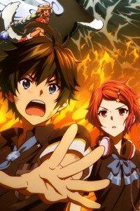 Musaigen no Phantom World Koito Minase Haruhiko Ichijo.iPhone 4 wallpaper 640x960