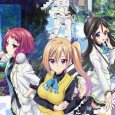 Myriad Colors Phantom World anime wallpapers for smartphones. Mai Kawakami, Reina Izumi and Koito Minase backgrounds for lock-screen. Haruhiko Ichijo and Kurumi Kumamakura images. Musaigen no Phantom World full HD...