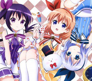 Gochumon wa Usagi Desu ka Cocoa Hoto Rize Tedeza Chino Kafu.Android wallpaper 2160x1920 (4)