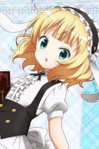 Gochumon wa Usagi Desu ka Sharo Kirima.iPhone 4 wallpaper 640x960
