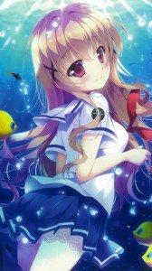 Haifuri Megumi Uda.iPhone 6 Plus wallpaper 1080x1920
