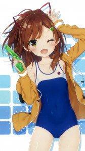 Haifuri Mei Irizaki.Magic THL W8 wallpaper 1080x1920