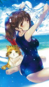 Haifuri Rin Shiretoko.Magic THL W9 wallpaper 1080x1920