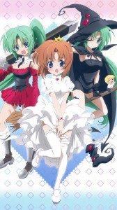 Halloween Mion Sonozaki Rena Ryugu.Sony Xperia S wallpaper 720x1280