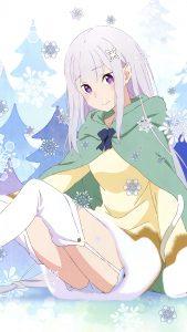 Re Zero Emilia 2160x3840 (2)