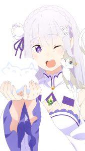 Re Zero Emilia 2160x3840 (4)