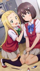 Kono Bijutsubu ni wa Mondai ga Aru Mizuki Usami Colette.HTC One wallpaper 1080x1920