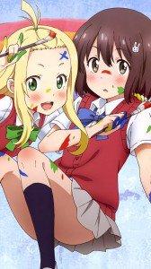 Kono Bijutsubu ni wa Mondai ga Aru Mizuki Usami Colette.Samsung Galaxy Note 3 wallpaper 1080x1920