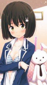 Kono Bijutsubu ni wa Mondai ga Aru Mizuki Usami.Sony Xperia Z wallpaper 1080x1920